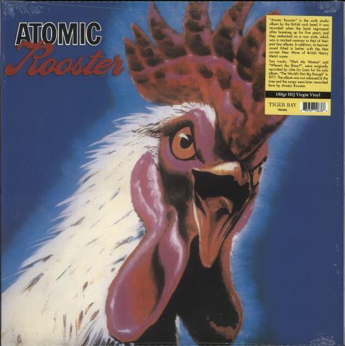 Atomic Rooster Atomic Rooster - 180gm Vinyl - Sealed vinyl LP album (LP record) UK ATMLPAT734431