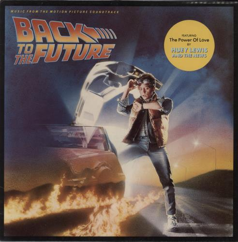 Back To The Future Back To The Future - EX vinyl LP album (LP record) UK BKFLPBA357382