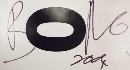 Band Aid Band Aid 20 - Feed The World - Autographed PVC Banner display UK AIDDIBA676089
