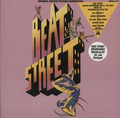 Beat Street (movie) Beat Street - Volume 1 - stickered p/s vinyl LP album (LP record) German BS3LPBE745161
