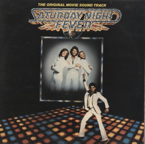 Bee Gees Saturday Night Fever + Insert 2-LP vinyl record set (Double Album) UK BGE2LSA654498
