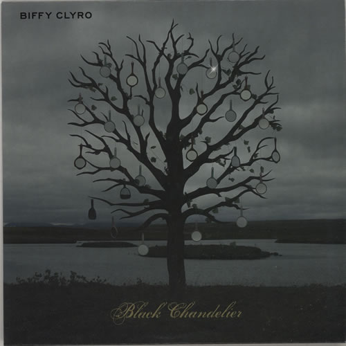 Biffy Clyro Black Chandelier 7 Vinyl Single Inch Record Uk B