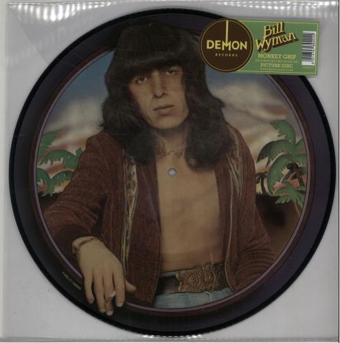 Bill Wyman Monkey Grip - RSD 16 picture disc LP (vinyl picture disc album) UK WYMPDMO650984