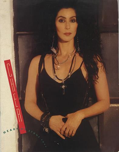 Cher Heart Of Stone Tour tour programme UK CHETRHE35207