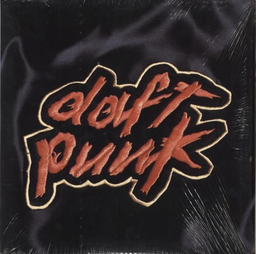 Daft Punk Homework 2-LP vinyl record set (Double Album) UK DFP2LHO709388