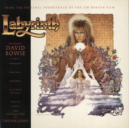 David Bowie Labyrinth - EX vinyl LP album (LP record) UK BOWLPLA693441