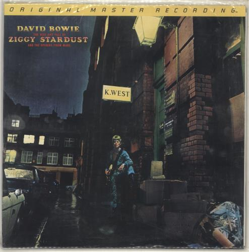 David Bowie The Rise And Fall Of Ziggy Stardust- Sealed vinyl LP album (LP record) US BOWLPTH529544