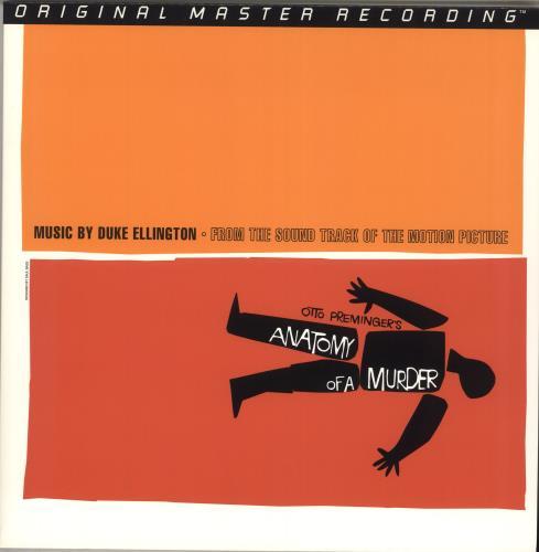 Duke Ellington Anatomy Of A Murder - 200gm vinyl LP album (LP record) US DA3LPAN715053