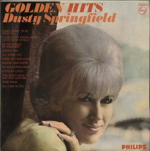 Dusty Springfield Golden Hits - 1st - FL/FB vinyl LP album (LP record) UK DUSLPGO710059