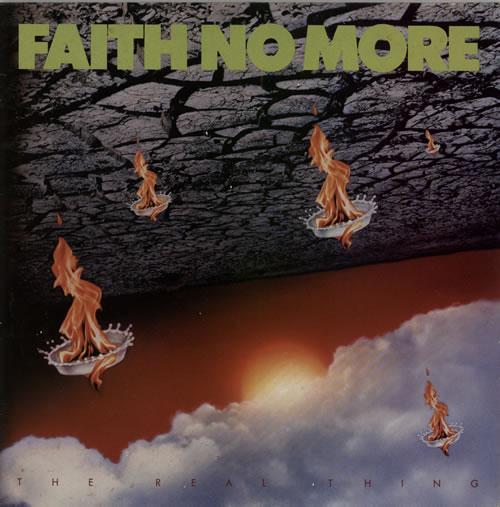 Faith No More The Real Thing - EX vinyl LP album (LP record) UK FNMLPTH607025