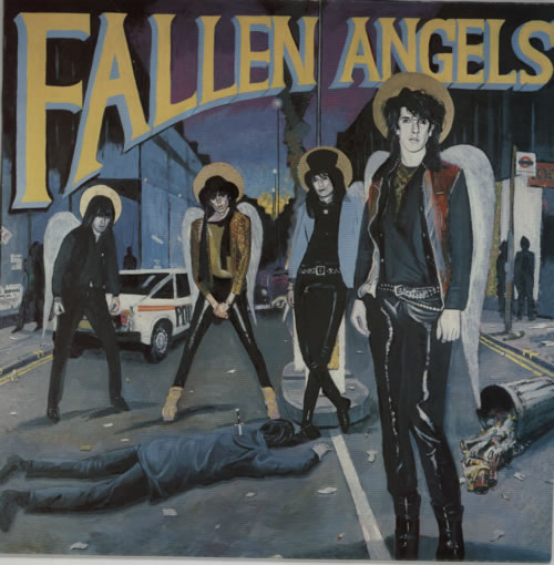 Fallen Angels Fallen Angels vinyl LP album (LP record) UK FKNLPFA591859