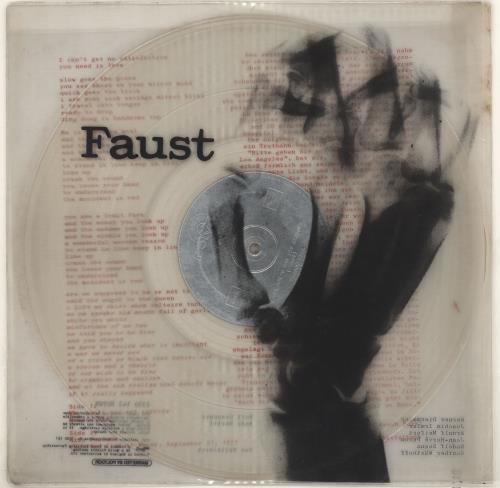 Faust Faust - Clear Vinyl vinyl LP album (LP record) UK FA8LPFA440603