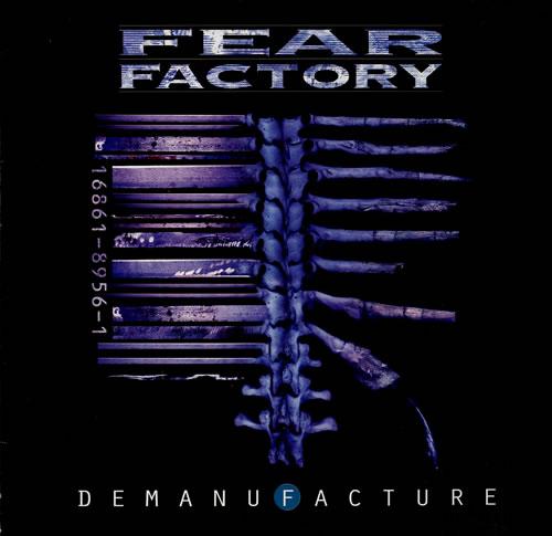 Fear Factory Demanufacture vinyl LP album (LP record) Dutch FFYLPDE553418