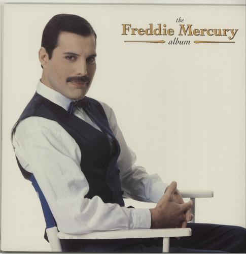 Freddie Mercury The Freddie Mercury Album vinyl LP album (LP record) UK MERLPTH656000
