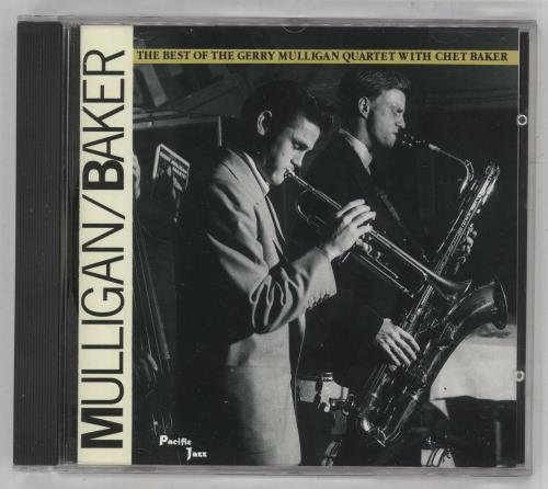 Gerry Mulligan The Best Of The Gerry Mulligan Quartet With Chet Baker CD album (CDLP) Dutch GAJCDTH738472