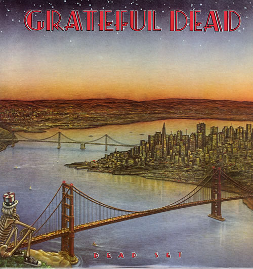 Grateful Dead Dead Set 2-LP vinyl record set (Double Album) US GRD2LDE141053