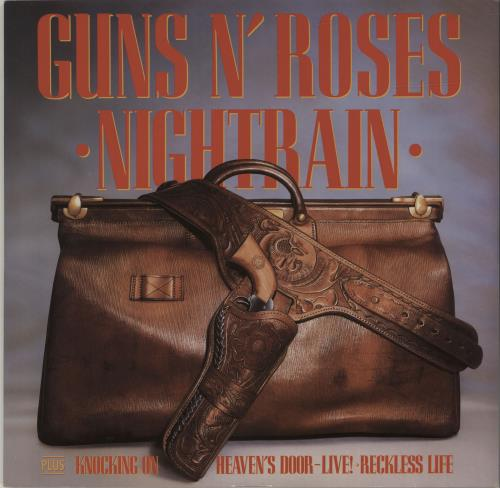 "Guns N Roses Nightrain 12"" vinyl single (12 inch record / Maxi-single) UK GNR12NI39368"