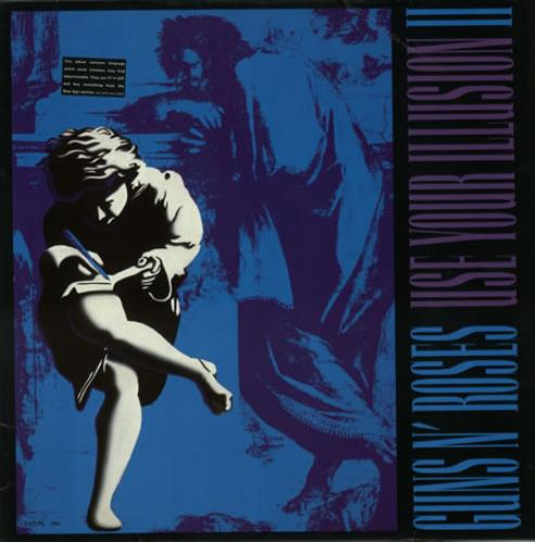 Guns N Roses Use Your Illusion II 2-LP vinyl record set (Double Album) UK GNR2LUS390116