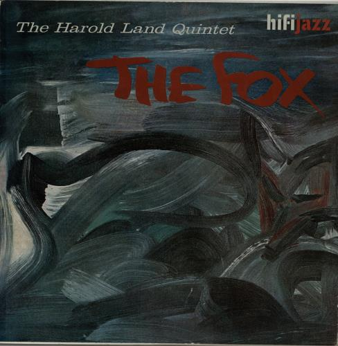 Harold Land The Fox vinyl LP album (LP record) UK 1HLLPTH649269