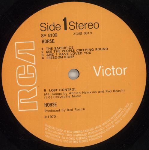 Horse Horse - 1st - EX vinyl LP album (LP record) UK QQSLPHO738320