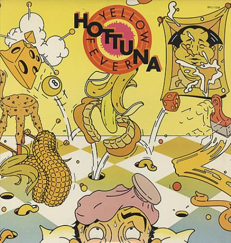 Hot Tuna Yellow Fever + Inner - Shrink vinyl LP album (LP record) US TUNLPYE83363
