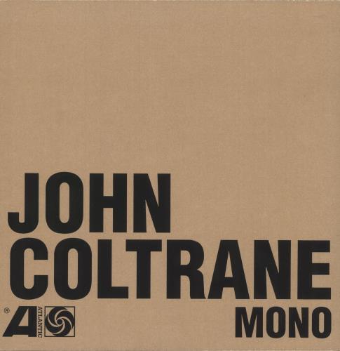 John Coltrane The Atlantic Years – In Mono: Sealed Boxset Vinyl Box Set UK JCOVXTH749642