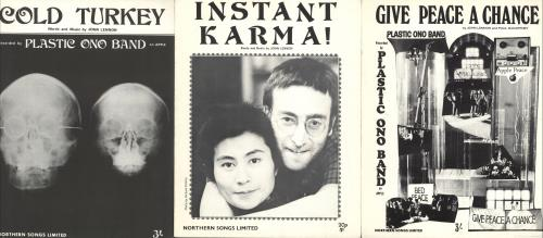 John Lennon Quantity Of Sheet Music sheet music UK LENSMQU726023