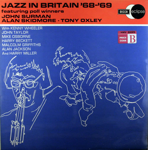 John Surman Jazz In Britain '68-'69 vinyl LP album (LP record) UK JDTLPJA416486