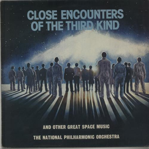 John Williams (Composer) Close Encounters Of The Third Kind & Other Great Space Music vinyl LP album (LP record) UK WIALPCL649861