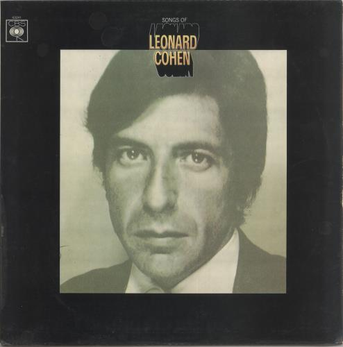 Leonard Cohen Songs Of Leonard Cohen - Laminated vinyl LP album (LP record) UK COHLPSO727659