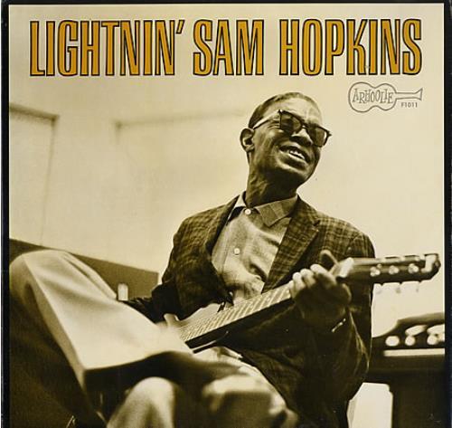 Lightnin' Hopkins Lightnin' Sam Hopkins US vinyl LP album ...
