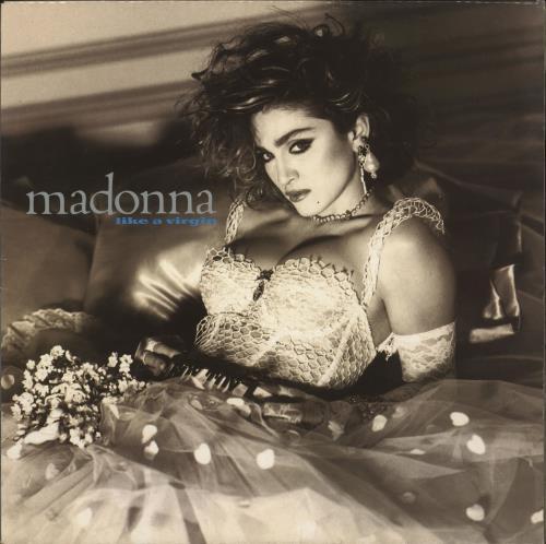 Madonna Like A Virgin - UK Pressing vinyl LP album (LP record) UK MADLPLI721863