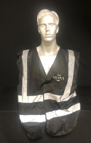 Madonna The MDNA Tour - Crew Reflective Wasitcoat - XL clothing UK MADMCTH729119