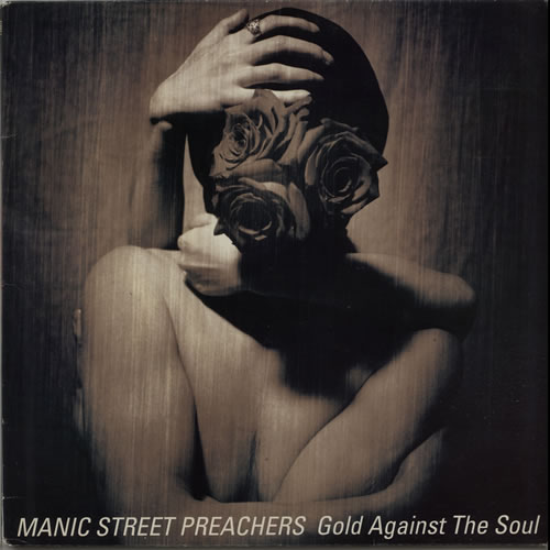 Manic Street Preachers Gold Against The Soul vinyl LP album (LP record) UK MASLPGO162789