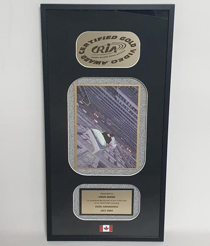 Megadeth Rude Awakening award disc Canadian MEGAWRU575118