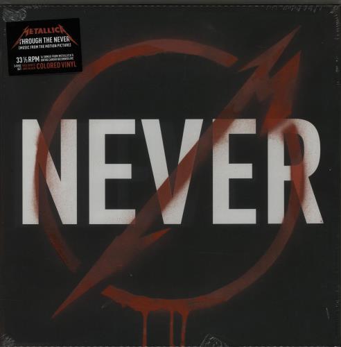 Metallica Through The Never - Coloured Vinyl + Sealed Vinyl Box Set US METVXTH652314