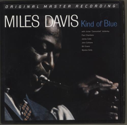 Miles Davis Kind Of Blue - 180gm (45rpm) Vinyl Box Set US MDAVXKI730195