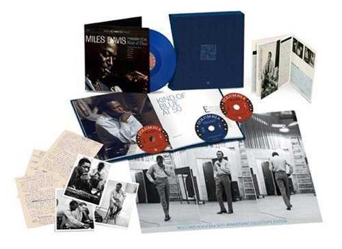 Miles Davis Kind Of Blue: 50th Anniversary Collectors Edition 3-disc CD/DVD Set UK MDA3DKI724032