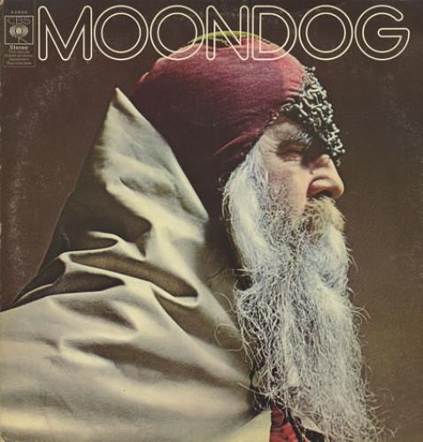 Moondog Moondog - EX vinyl LP album (LP record) UK MDGLPMO410198