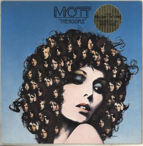 Mott The Hoople The Hoople - Stickered - EX vinyl LP album (LP record) UK MHOLPTH686771