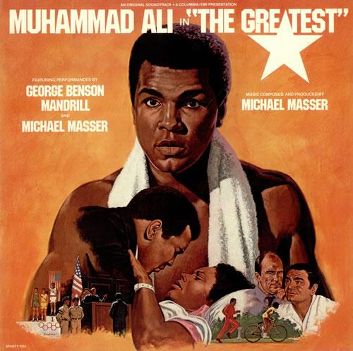 Muhammad Ali The Greatest vinyl LP album (LP record) UK NUHLPTH497227