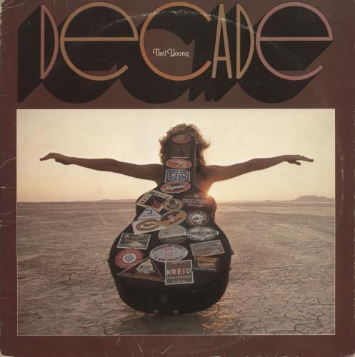 Neil Young Decade - EX 3-LP vinyl record set (Triple Album) UK YOU3LDE603594