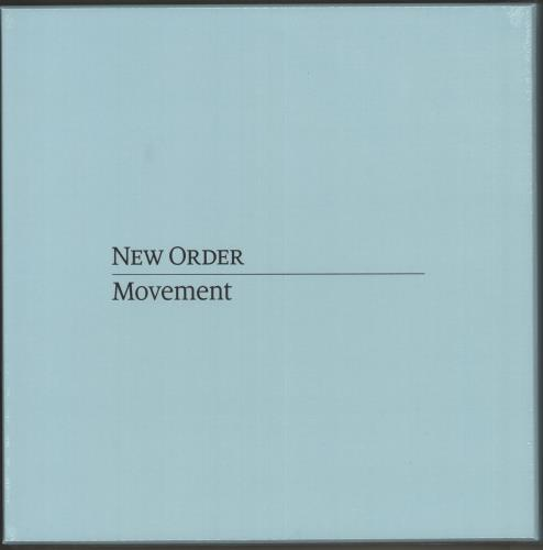 New Order Movement - Sealed Boxset box set UK NEWBXMO726095