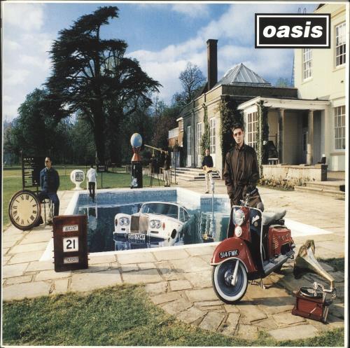 Oasis Be Here Now 2-LP vinyl record set (Double Album) UK OAS2LBE92641