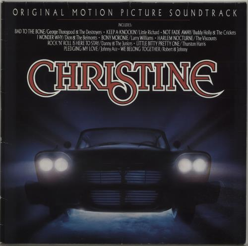 Original Soundtrack Christine vinyl LP album (LP record) German OSTLPCH654615