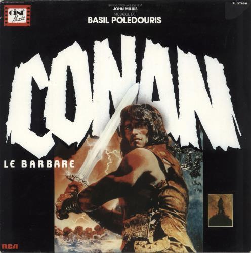 Original Soundtrack Conan Le Barbare vinyl LP album (LP record) French OSTLPCO733379
