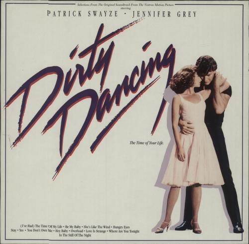 Original Soundtrack Dirty Dancing vinyl LP album (LP record) German OSTLPDI301973