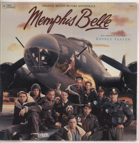 Original Soundtrack Memphis Belle vinyl LP album (LP record) German OSTLPME738383
