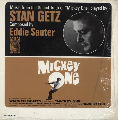 Original Soundtrack Mickey One vinyl LP album (LP record) US OSTLPMI585253