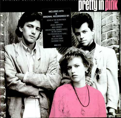 Original Soundtrack Pretty In Pink vinyl LP album (LP record) UK OSTLPPR271761